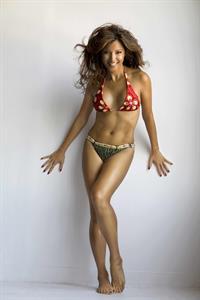 Kelly Hu in a bikini