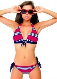 Valentina Kolesnikova in a bikini