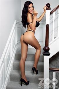 Alice Goodwin in lingerie - ass