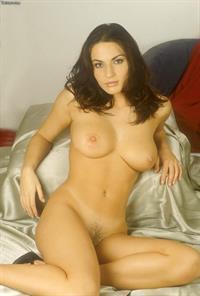 Andrea Krumlova - pussy and nipples
