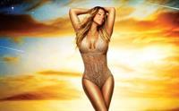 Mariah Carey in a bikini