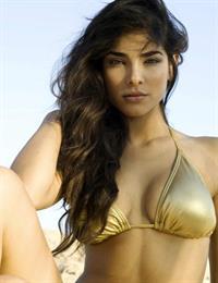 Alejandra Espinoza in a bikini
