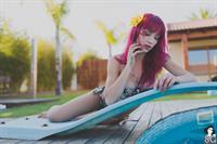 Natasha Legeyda in a bikini