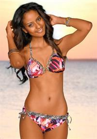 Sara Nuru in a bikini