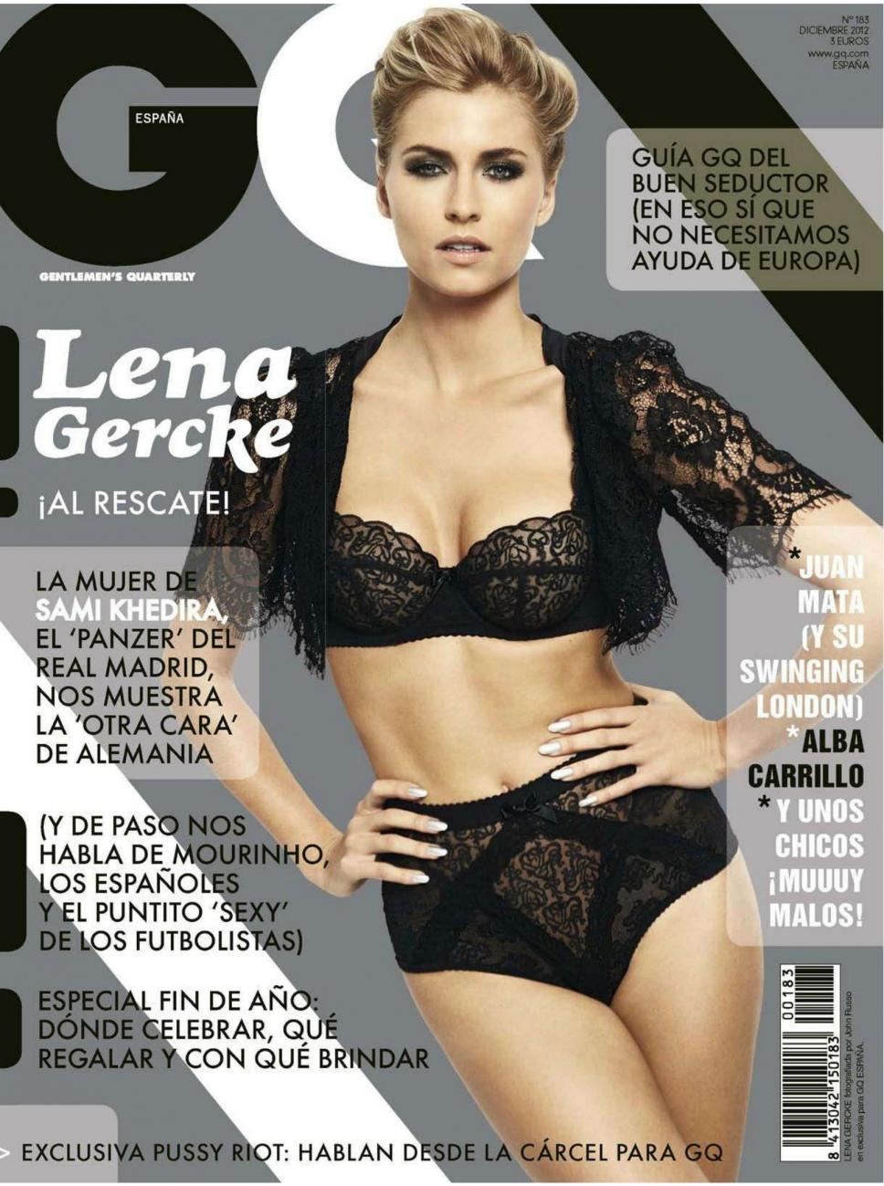 Lena Gercke in lingerie