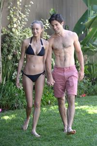 Melissa Ordway in a bikini