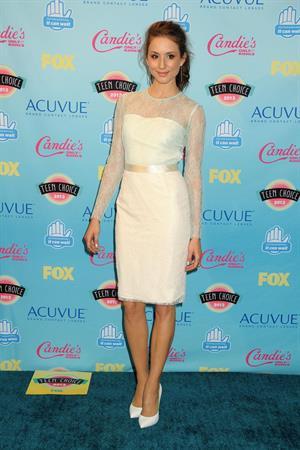 Troian Bellisario 2013 Teen Choice Awards, Aug 11, 2013