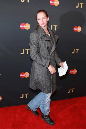 Uma Thurman attends MasterCard Priceless Premieres at Roseland Ballroom in New York City (05.05.2013)