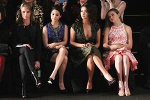 Vanessa Hudgens Naeem Khan Fall 2013 Fashion Show in New York, February 12, 2013