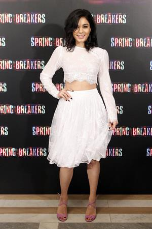 Vanessa Hudgens - Photo call for Spring Breakers at the Villamagna Hotel in Madrid (21.02.2013)