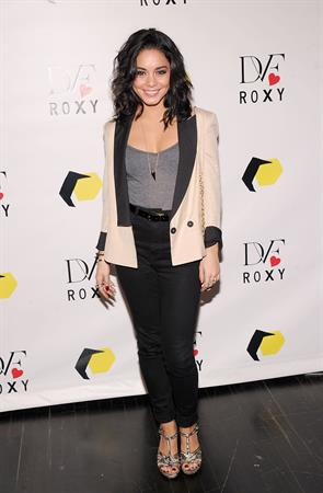 Vanessa Hudgens DVF Loves ROY launch in NY 3/6/13
