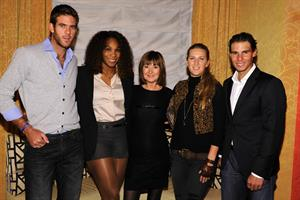 Victoria Azarenka attend the BNP Paribas Tennis Showdown Cocktail Party at Essex House in New York - March 3, 2013