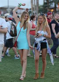 Whitney Port at the Coachella Valley Music and Arts Festival in Indio on April 12, 2013