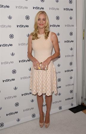 Yvonne Strahovski 12th Annual InStyle Summer Soiree, Aug 14, 2013