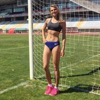 Yulia Levchenko in a bikini