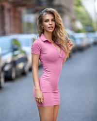 Hot blonde German model Alexa Breit