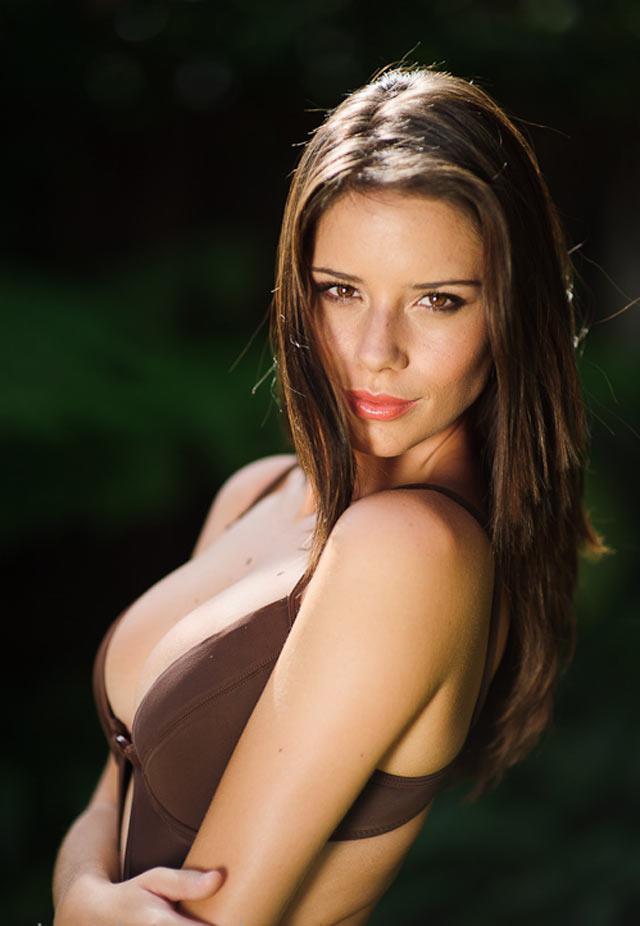 Simone De Kock in a bikini