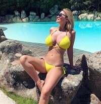 Rhian Sugden in a bikini