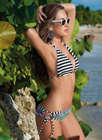 Macri Elena Vélez in a bikini