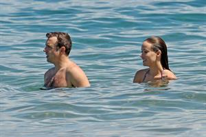 Olivia Wilde on the beach and in the water in Hawaii - May 26, 2013