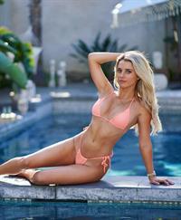 Lindsay Brewer in a bikini