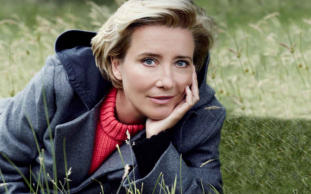 Emma Thompson tijdens de première van The Love Punch in Toronto Canada 2013