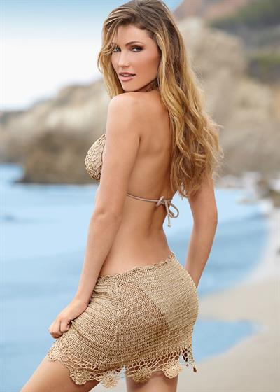 Denise Schaefer in a bikini - ass