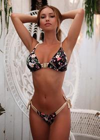 Laëtitia Tribaldos in a bikini