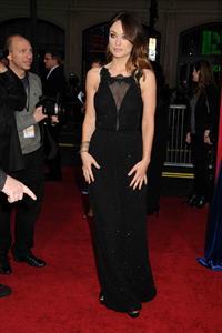 Olivia Wilde attends  The Incredible Burt Wonderstone  Los Angeles Premiere - March 11, 2013