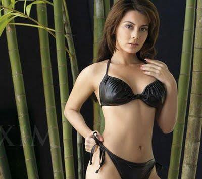 Minissha Lamba in a bikini