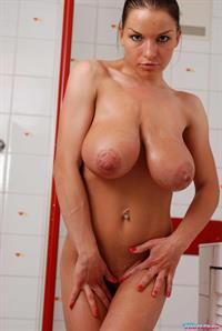 Aksana Shyker - breasts