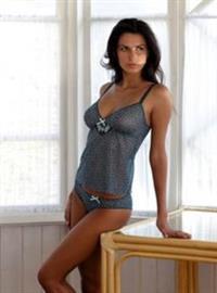 Kateryna Antonenko in lingerie