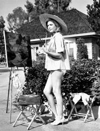 Sandra Dee in a bikini