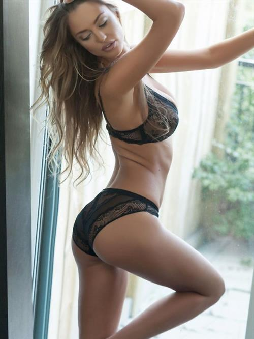Charlie Riina in lingerie - ass