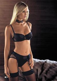 Vibe Sørensen in lingerie