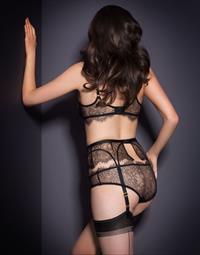 Sarah Stephens in lingerie - ass