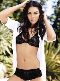 Taylor Cole in lingerie