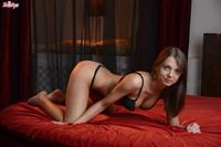 Foxy Di in lingerie