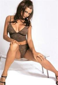 Catherine Bell in lingerie