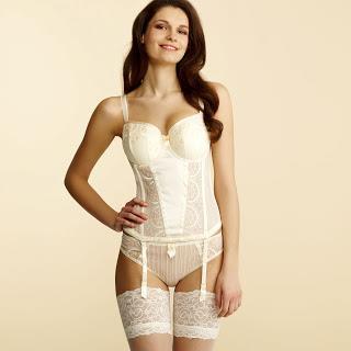 Anastasia Grawe in lingerie