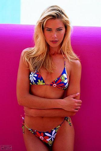 Valeria Mazza in a bikini