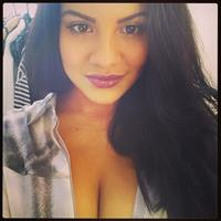 Lacey Banghard taking a selfie