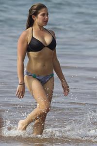 Danielle Fishel in a bikini