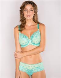Heather Crook in lingerie