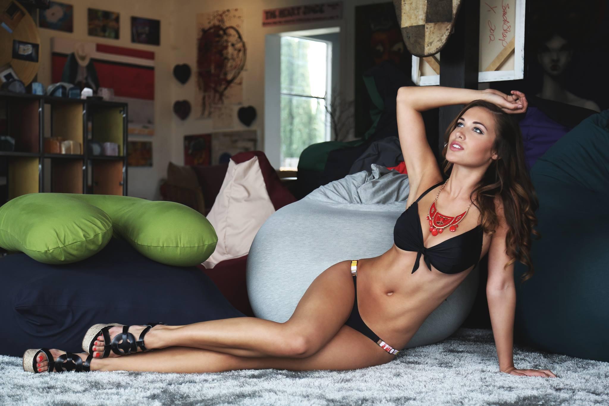 Mikayla Carr in a bikini