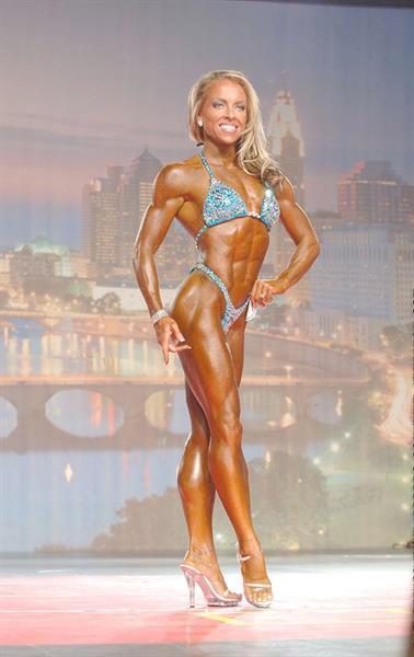 Jenn Hendershott in a bikini