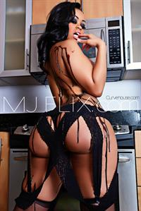 Blac Chyna in lingerie - ass