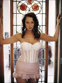 Samantha Morton in lingerie