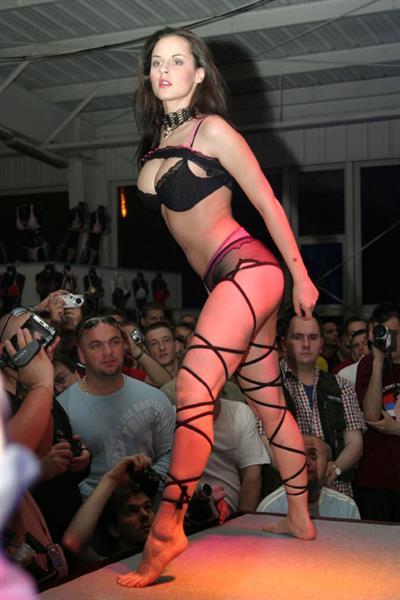 Michelle Wild in lingerie