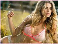 Cristina Hurtado in lingerie